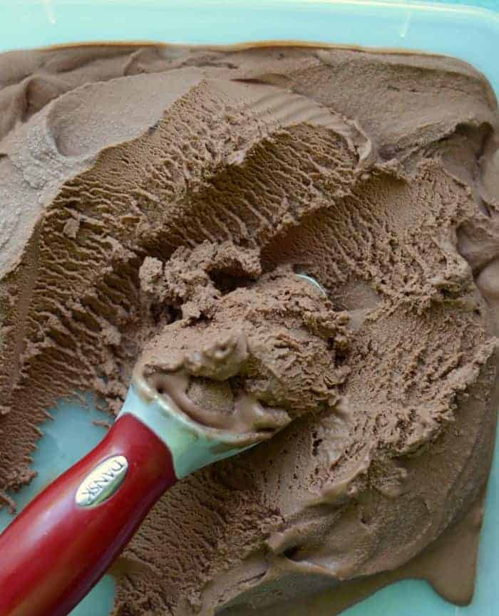 Homemade Chocolate Peanut Butter Ice Cream recipe