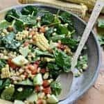 Image of fresh corn salad