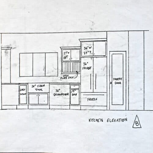 Our Kitchen Plans Reveal (plus a giveaway)!