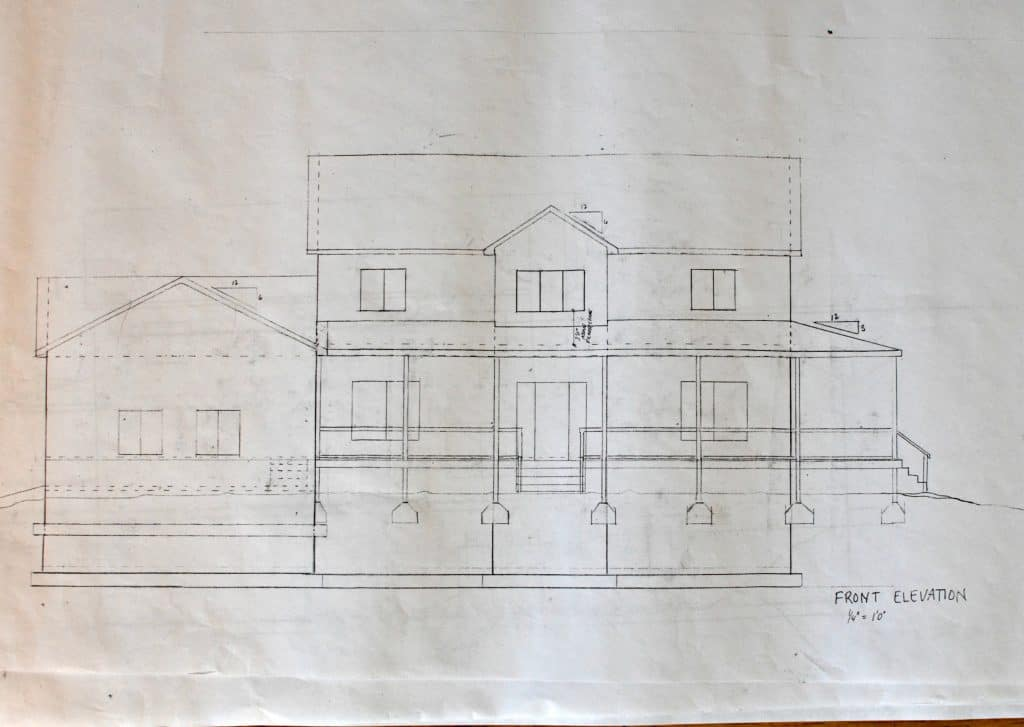 house plans front elevation