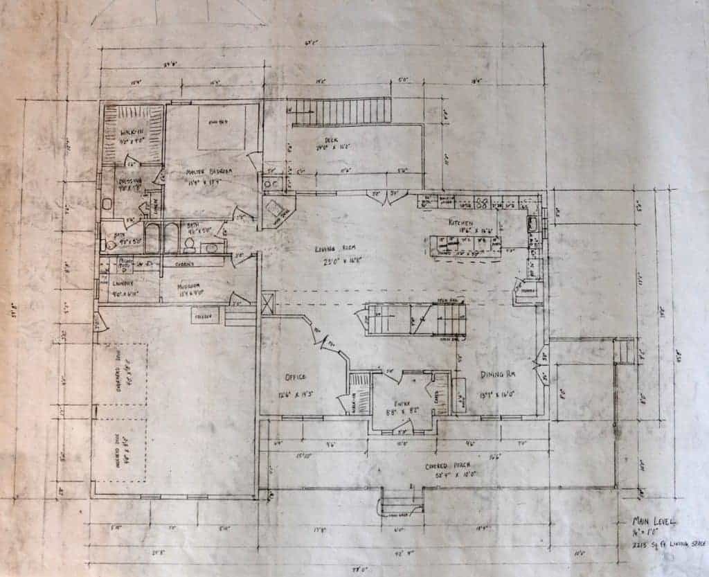 house plans main level
