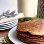 Healthy Whole Grain Zucchini Bread Pancakes