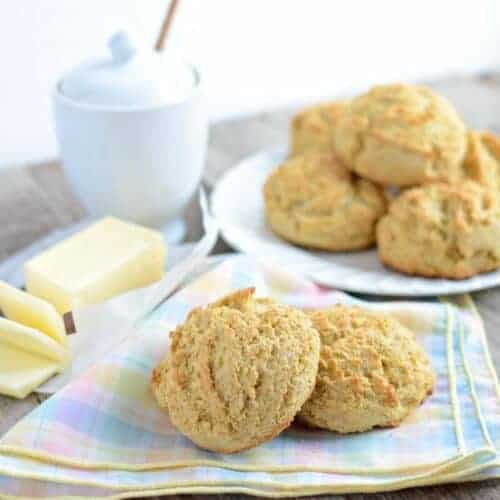 Maple Cornmeal Biscuits