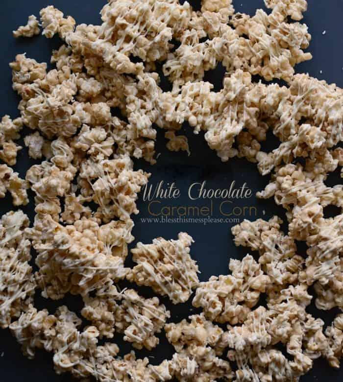White Chocolate Caramel Corn