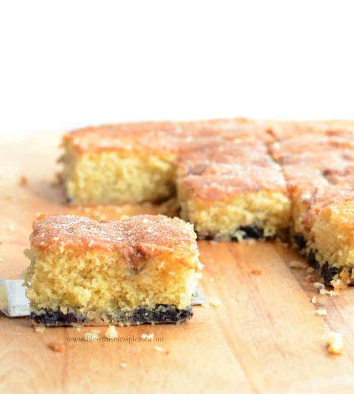Blueberry Boy Bait - cake you can eat for breakfast, brunch, brinner ...