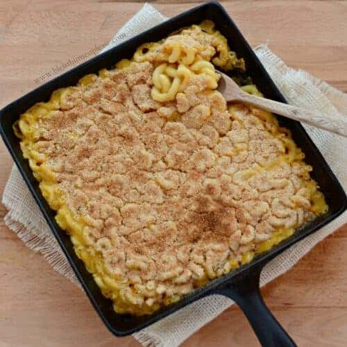 Meatless Monday Baked Macaroni