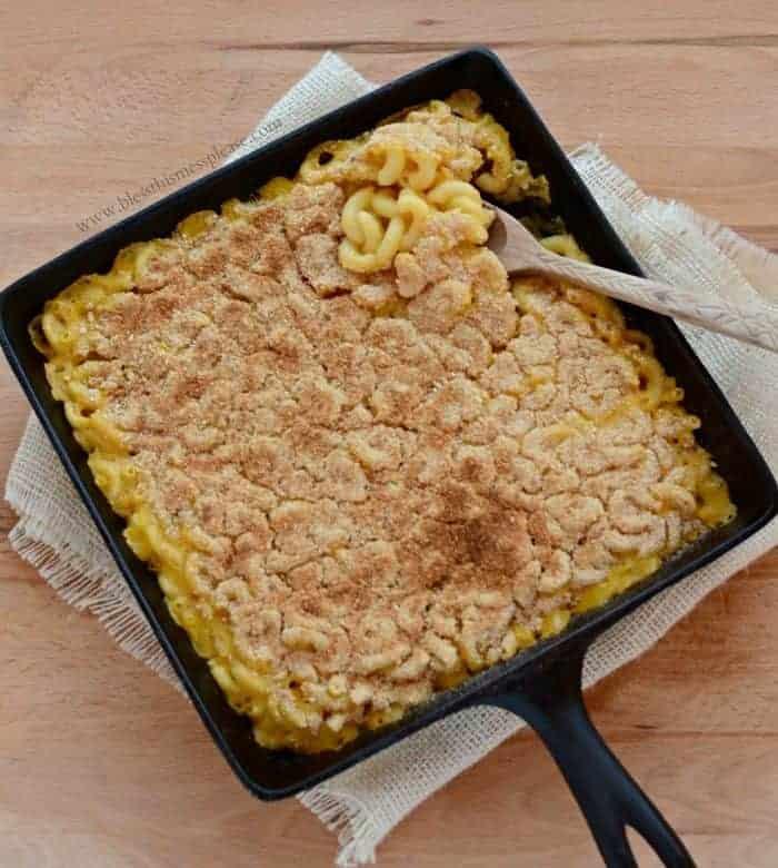Meatless Monday Baked Macaroni (dairy free!)