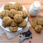 Pumpkin Oatmeal Chocolate Chip Cookies Recipe | Easy Oatmeal Cookies