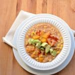 Slow Cooker Creamy Turkey and Butternut Squash Chili