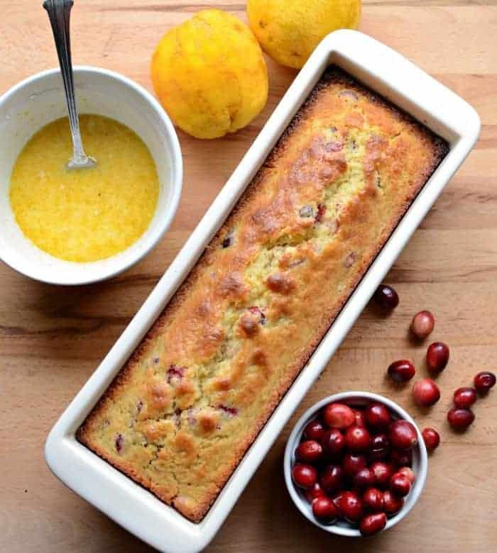 The Best Cranberry Orange Bread