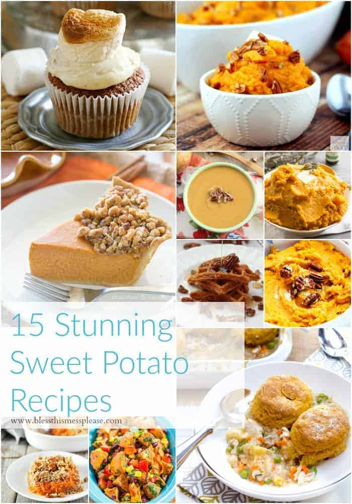 15 Stunning Sweet Potato Recipes