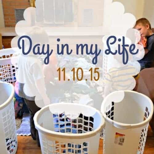 A Day in My Life: 11.10.15