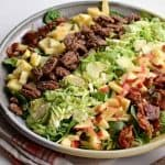 Image of a Fall Salad with Apples & Bacon