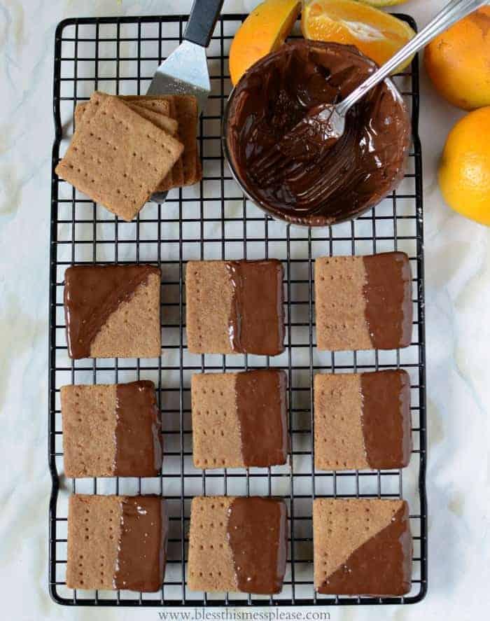 Homemade Graham Crackers 3 Ways: Original, Orange Dark Chocolate, and Pumpkin Spice