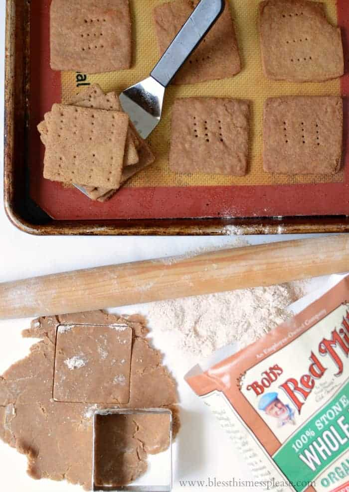 Homemade Graham Crackers 3 Ways: Original, Orange Dark Chocolate, and Pumpkin Spice
