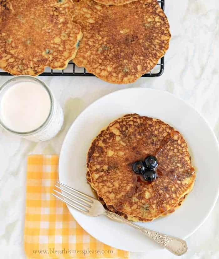 Cornmeal Pancakes America S Test Kitchen
