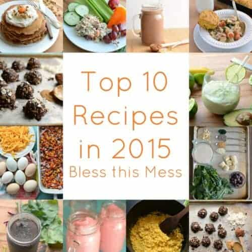 The Best of 2015: 10 Recipes to rule them all...
