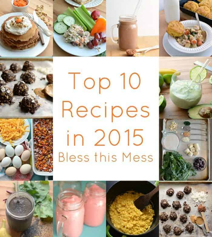The Best of 2015: 10 Recipes to rule them all…