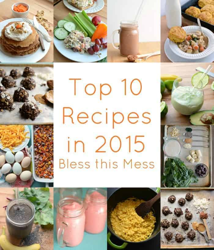 The Best of 2015:10 Recipes to rule them all...