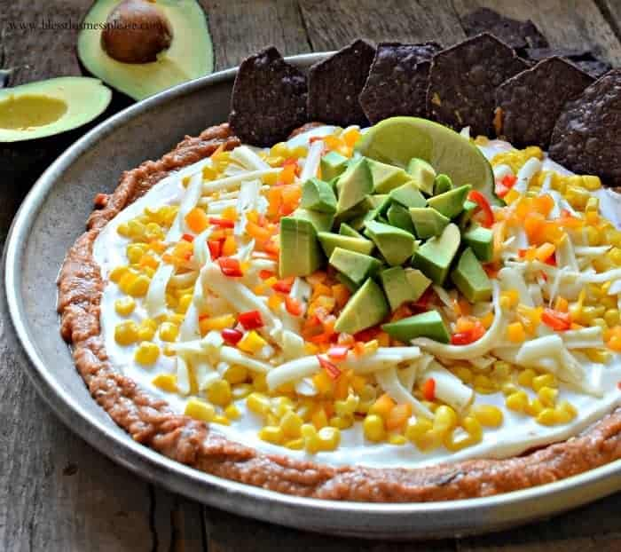 Not Yo Mama's Bean Dip my favorite recipe for a party!