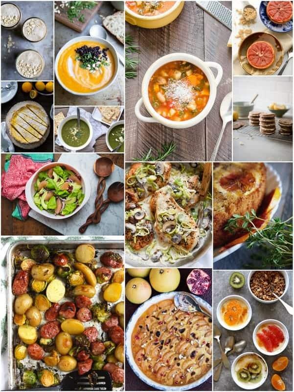 Seasonal recipes for January