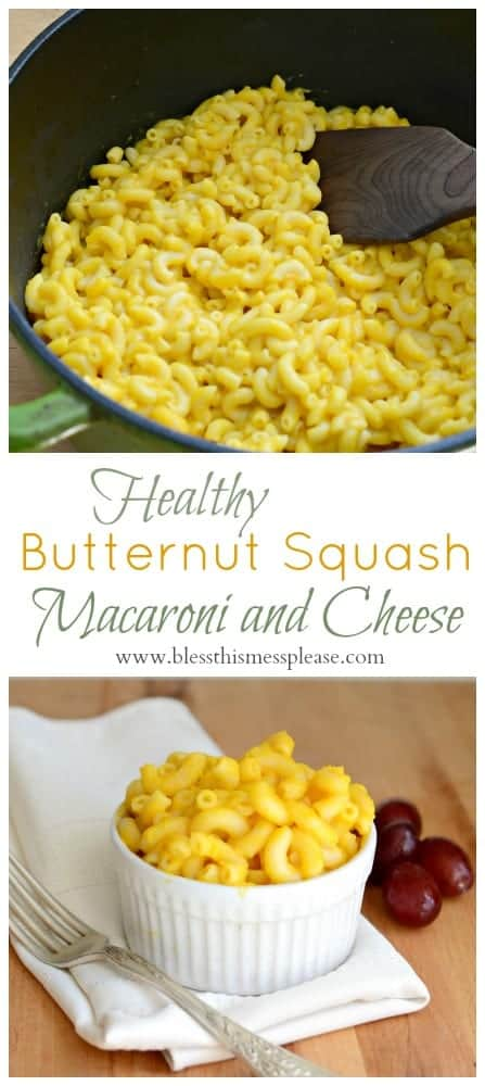 Butternut Squash Macaroni and Cheese so good they'll never know they are eating their veggies!