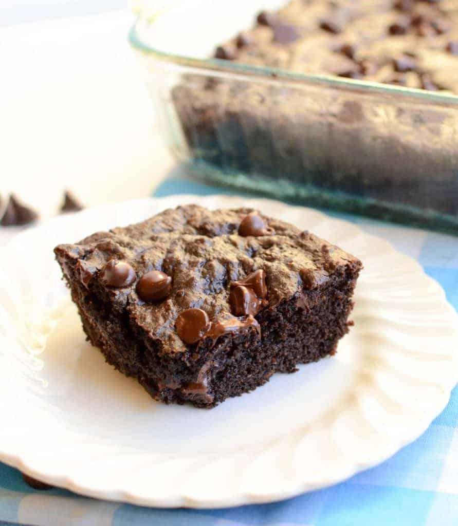 Healthy Lower Calorie Brownie recipe (no beans, no avocado, nothing weird inside!)