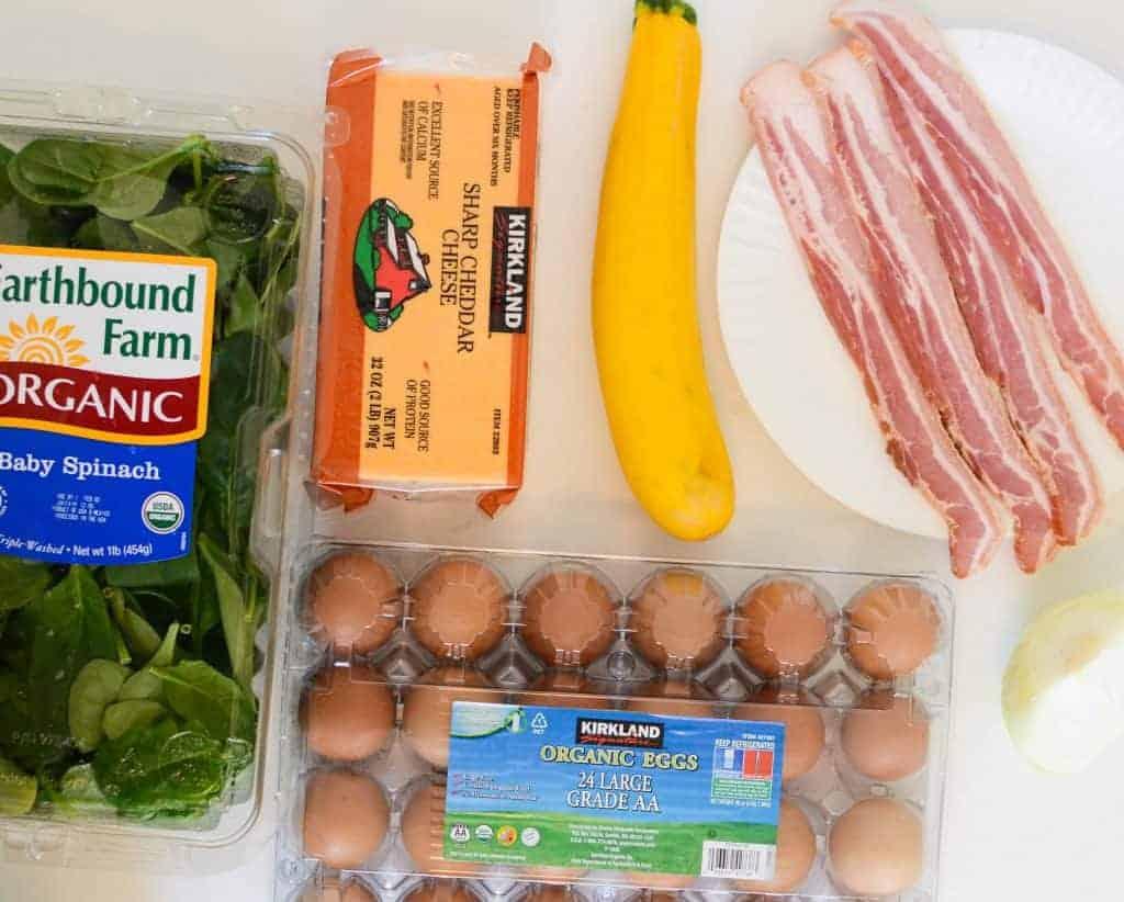 Egg Bake Ingredients