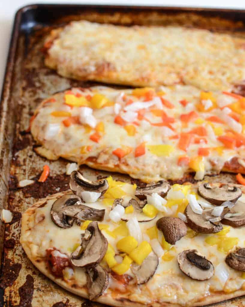 Quick and Easy Flatbread Pizzas