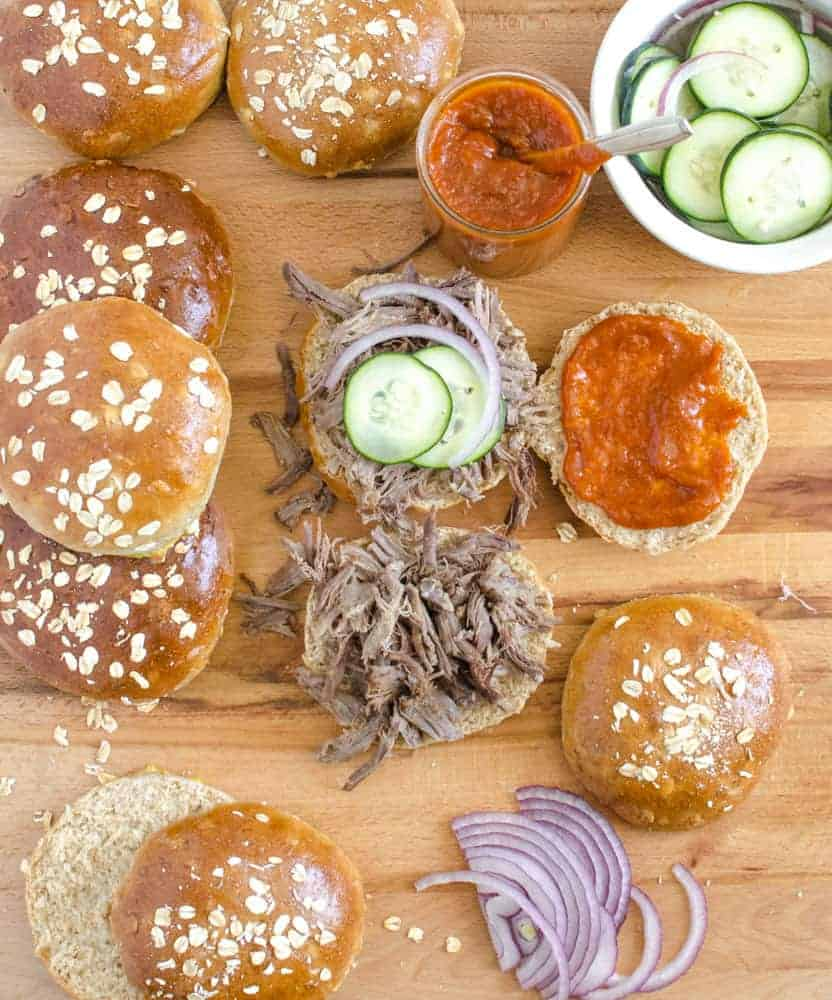 Ultimate Pulled Pork Sandwiches are perfect for anyone who is on Team Simple for their party food.