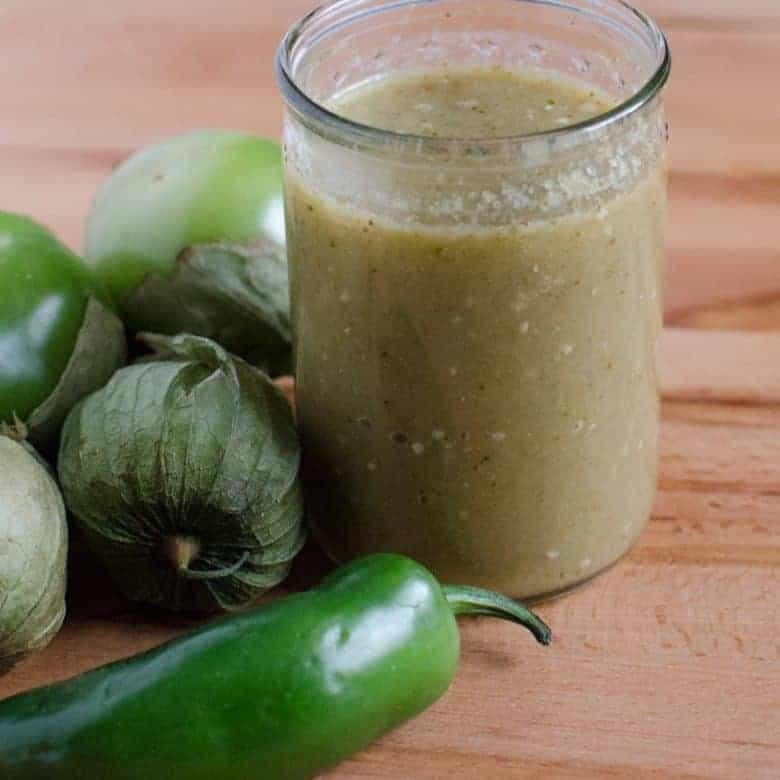 Amazing Easy Homemade Green Enchilada Sauce