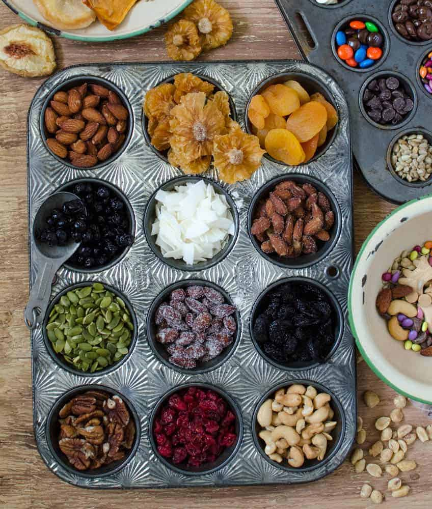 Make a DIY Trail Mix station for your kids