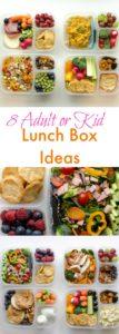 8 Adult Lunch Box Ideas | Healthy & Easy Work Lunch Ideas
