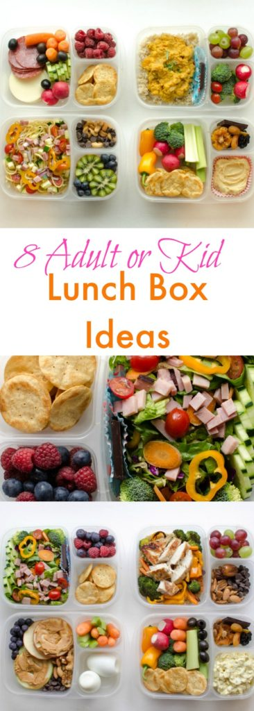 8 Adult Lunch Box Ideas | Healthy & Easy Work Lunch Ideas