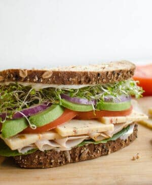 Image of turkey sandwich
