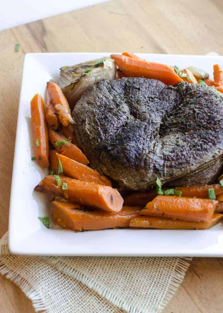 Perfect Pot Roast in the Slow Cooker