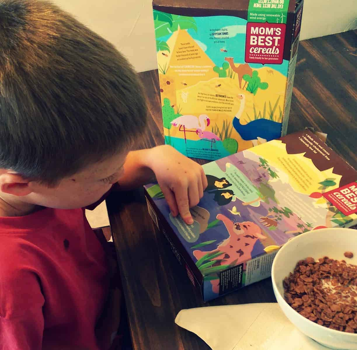 3 Ways to Make School Mornings Easier in partnership with Mom's Best Cereals