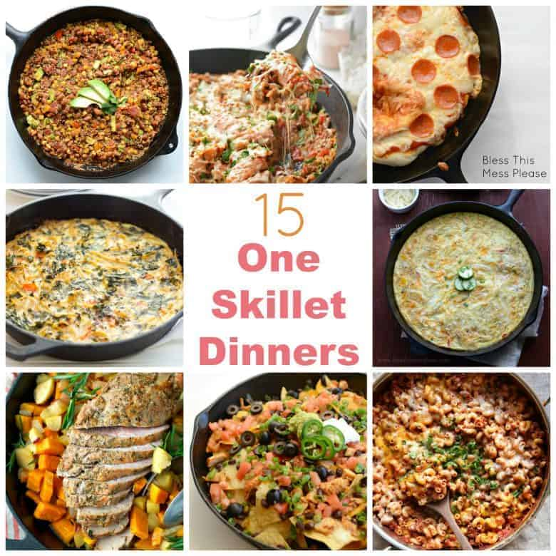 15 Weeknight One Skillet Meals