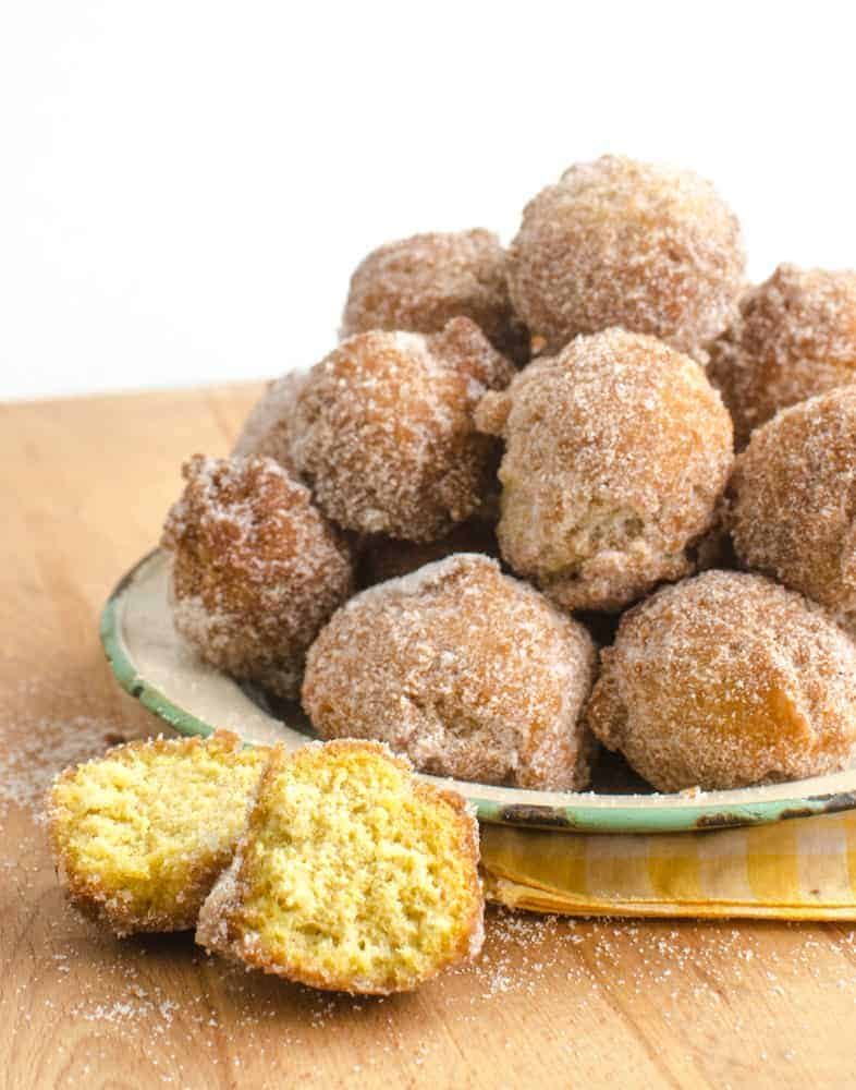 Pumpkin Donut Holes in 15 minutes