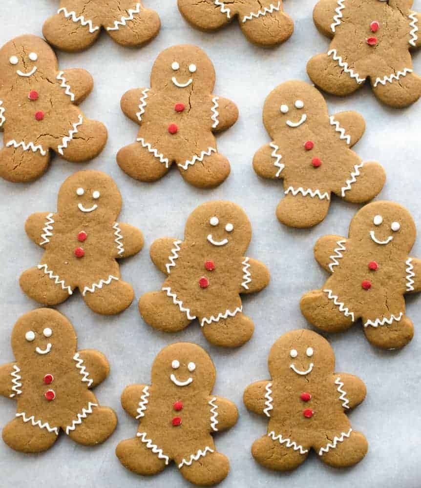 Soft Gingerbread Cut-Out Cookies - Bless This Mess