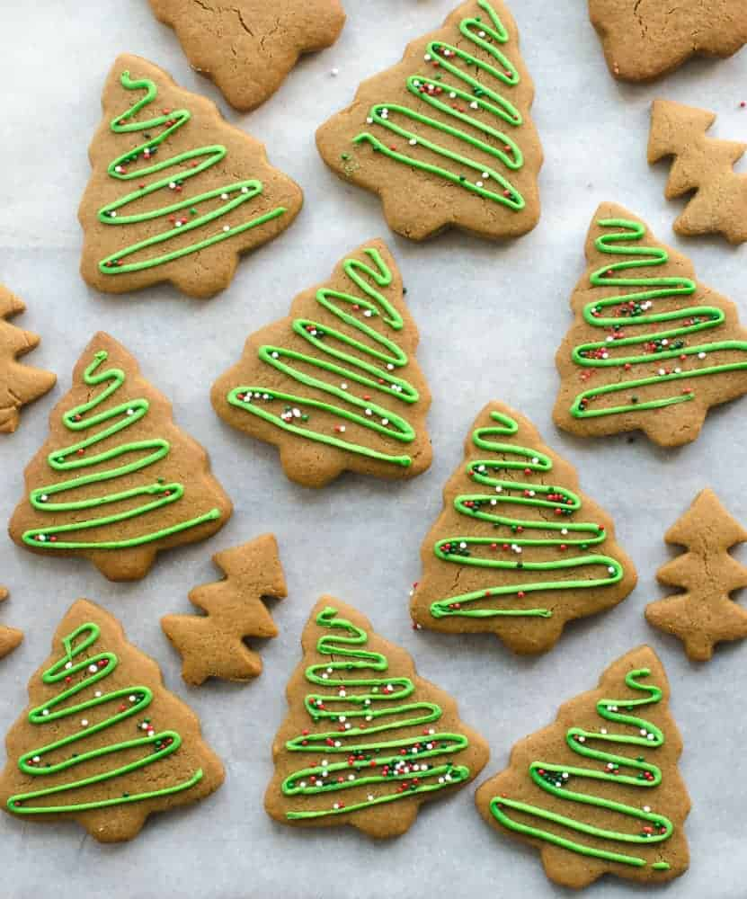 Soft Gingerbread Trees