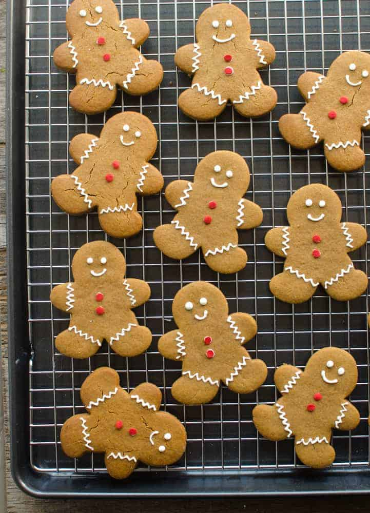 Soft Gingerbread Cut-Out Cookies