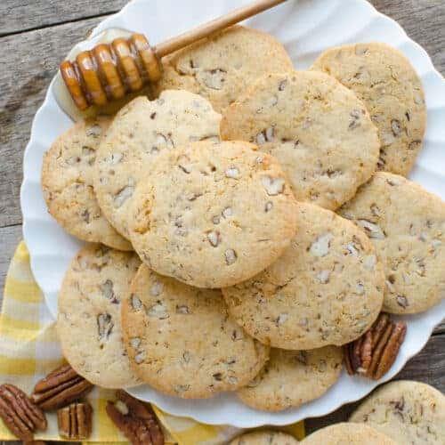 Honey Pecan Slice-and-Bake Cookies