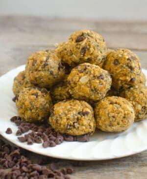 Pumpkin Oatmeal Energy Balls Photo