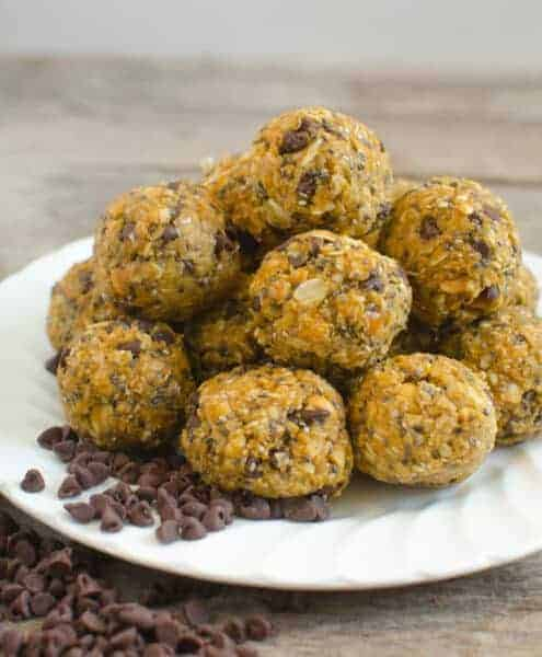 Pumpkin Oatmeal Energy Balls Photo