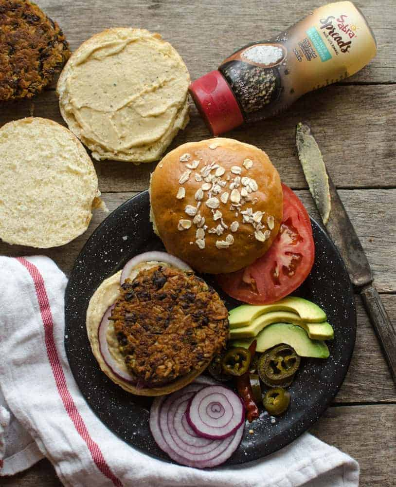 Sweet, bold, and zesty Sweet Potato and Black Bean Burgers are my favorite veggie burgers around.
