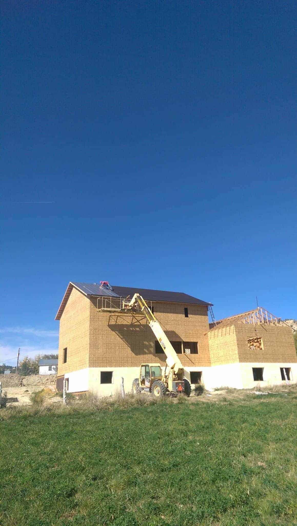 DIY build farmhouse