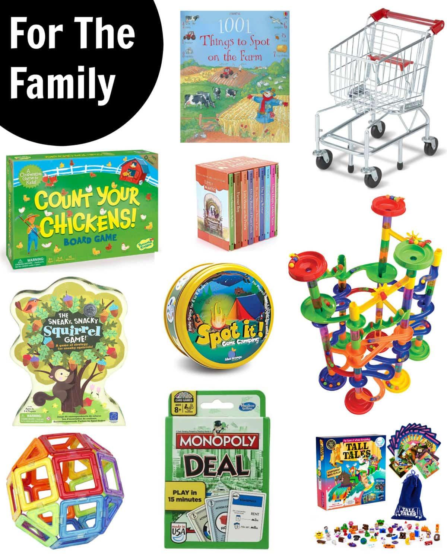 Gift Guide 2016 - Family