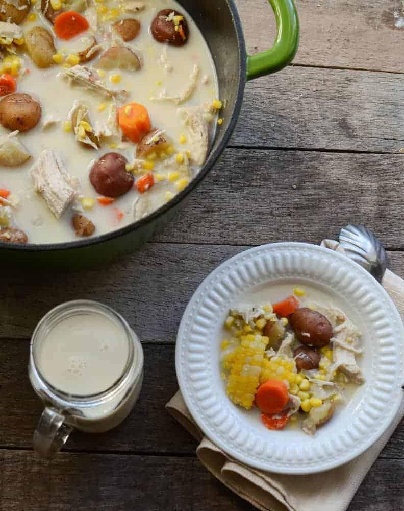 Baked Potato Corn Chowder
