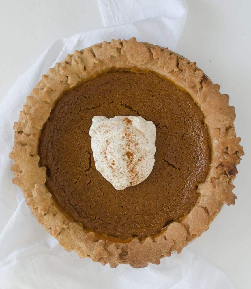 8 Must-Make Pie Recipes - Maple Sweetened Pumpkin Pie